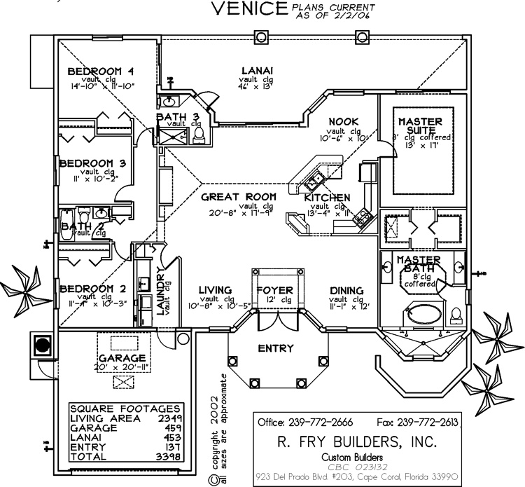 Executive series venice barclay s real estate group for Barclays floor plan
